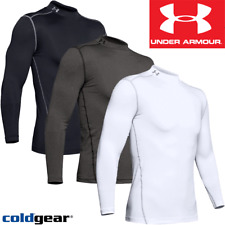 UNDER ARMOUR COLDGEAR COMPRESSION MEN'S THERMAL BASE LAYER MOCK / NEW FOR 2020