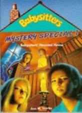 Mystery special: Babysitters' Haunted House No. 1 (Babysitters Club Mysteries),