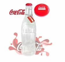 NEW OFFICIAL COKE COCA COLA PLASTIC MONEY SAVING BOTTLE PIGGY BANK GIANT 2FT UK