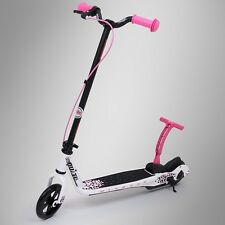 Pulse Kick and Go Scooter Nitrous weiss/pink - kinderroller, tretroller, roller