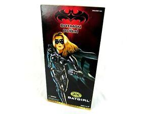 "Batman & Robin Batgirl Figure Collector Series 1997 Kenner Hasbro 12"""