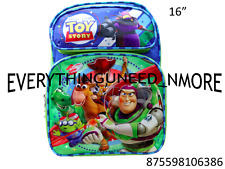 """TOY STORY Large School Backpack 16"""" 6386"""