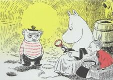 Moomin Tove 100 Greeting Card With Envelope Dangerous Journey