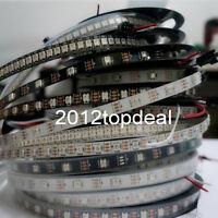 WS2812B 5050 RGB LED Strip 5M 150 300 Leds 144 30LED/M Individual Addressable 5V