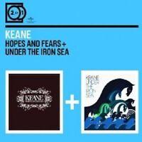 "KEANE ""HOPES AND FEARS/ UNDER THE IRON SEA"" 2 CD NEU"