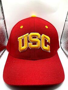 USC Trojans fitted cap-7 1/2-Classic throwback-Fan Favorite-#1 Best Seller