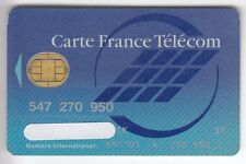 TELECARTE / PHONECARD .. CARTE FRANCE TELECOM INTERNATIONAL PUCE BULL S/N° V° 3