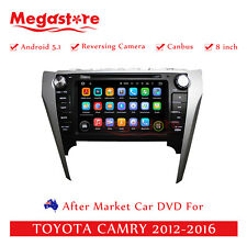 "8"" Car DVD GPS For TOYOTA Aurion 2012-2014 Quad Core Android 7.1 navigation"