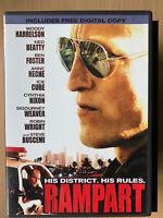 Rampart 2011 Corrupt Crooked Cop Crime Thriller US R1 DVD