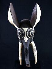 Art Africain Tribal - Masque Éléphant Gurunsi - African Mask Maske - 51 Cms