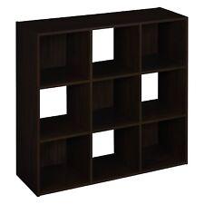 ClosetMaid 8937 Cubeicals 9-Cube Organizer Espresso Espresso 9-Cube