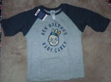 NEW MiLB Minor League Baseball New Orleans Baby Cakes Youth Boys 3/4 T Shirt 8
