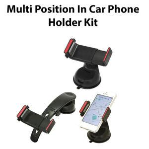Multi Position 360° Rotation Ball Joint Universal In-Car Phone Holder kit