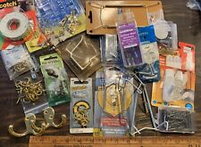 Hardware Lot Hanging Supplies Picture Hooks Plate Hangers Etc