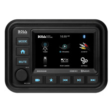 Boss Audio Bluetooth (Audio Streaming) Marine Gauge Digital Media AM/FM Receiver