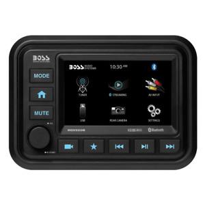Boss Audio Bluetooth (Audio Streaming) Marine Gauge Digital Media AM/FM Receiver
