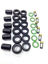 FUEL INJECTOR REPAIR KIT O-RINGS FILTERS GROMMET PINTEL CAP MITSUBISHI 3.0L V6
