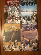 The Walking Dead Vol. 1-4 Image Softcover Graphic Novel Comic Book