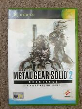 Metal Gear Solid 2: Substance original Xbox rare game Dutch cover pal Europe