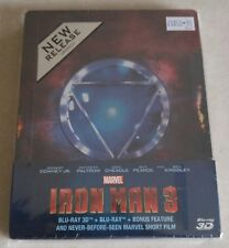 New Iron Man 3 3D + 2D Blu-ray Steelbook™ Singapore + Bonus Disc