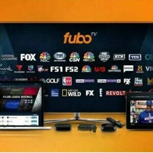 Fubo TV Premium - LIVE SPORT & MOVIES | 1 YEAR SUBSCRIPTION | - 100+ Channels |