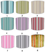 Arthouse Designs Lampshades Ideal To Match Arthouse Sophia Stripe Wallpaper.