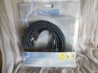 High End Schwaiger  Audio /Video Kabel  Cinch 3m NEU