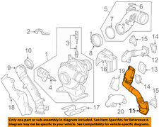 GM OEM Turbocharger Turbo-Water Outlet Pipe Right 12657012