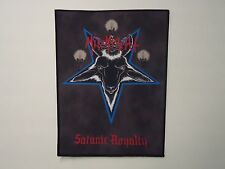 MIDNIGHT SATANIC ROYALTY SUBLIMATED BACK PATCH