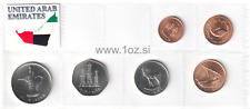 UNITED ARAB EMIRATES SET 1996 / 2011 - 6 coins 1, 5, 10, 25, 50, FILS + 1 DIRHAM