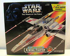 Star Wars POTF2 Electronic X-Wing Toy by Kenner 1997 MIB SEALED