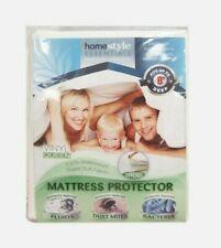 Vinyl Mattress Protector-Waterproof & Dust Mite Proof Durable Cover - Queen Size