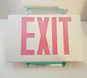 """Exit Sign Cover, Replacement Sign Cover.  11-5/8"""" X 7-1/2""""."""