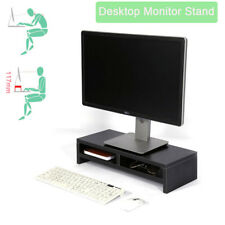 DIY Computer Riser Monitor Stand Tidy PC Laptop Screen Desk Storage Printer Rack