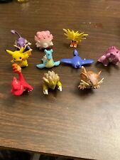 Pokemon Figures Lot Of 10