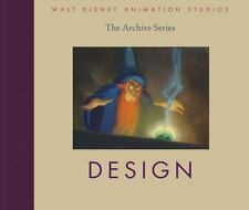 WALT DISNEY ANIMATION STUDIOS 2010 hc book DESIGN The Archive Series NEW!