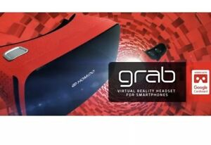 Homido Grab Red Virtual Reality Headset for Smartphones - NEW in Box