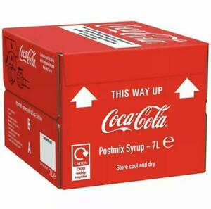 Coca-Cola Postmix Syrup 7L 085325 Fast Food Cafe Takeaway Catering Restaurant