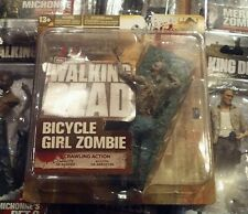 2012 McFarlane Walking Dead BICYCLE GIRL ZOMBIE. Figure