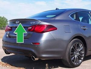 NEW UNPAINTED - GREY PRIMER FINISH REAR SPOILER FOR 2015-2020 INFINITI Q70
