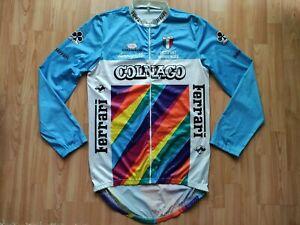 Colnago Ferrari Vintage Cycling Jacket Campagnolo Columbus Size:~M/L VERY RARE!