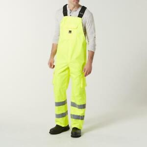 Craftsman Men's High Visibility Work Overalls Size Large New With Tags MSRP $59