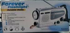 Forever Flashlight Dynamo Radio new