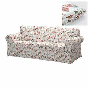 New Original IKEA cover set for Ektorp 3 seat sofa Videslund Multicolour Floral