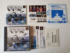 PSX SONY PLAYSTATION JAP NTSC MACROSS DIGITAL MISSION VF-X - WSPINE
