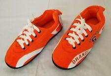 Unisex Size MD 7/8 Orange White Syracuse Comfy Feet Indoor Outdoor Slipper