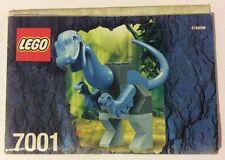 LEGO 7001 Notice de Montage Instruction Booklet 2001 Dinosaure Iguanodon