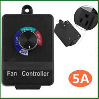 Variable Fan Blower Speed Controller Hydroponics Inline Duct Vortex Exhaust
