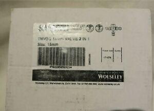 2 X Saracen 15mm Thermostatic Mixing Valve 171676 TMV2, TMV3, WRAS approved