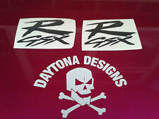 GSXR BLACK SIDE FAIRING CUSTOM EARLY DESIGN GRAPHICS DECALS STICKERS